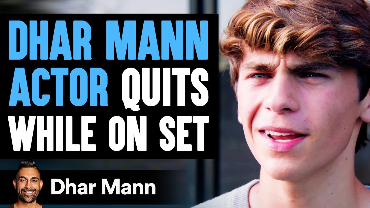 Dhar Mann ACTOR QUITS While On Set, What Happens Next Is Shocking