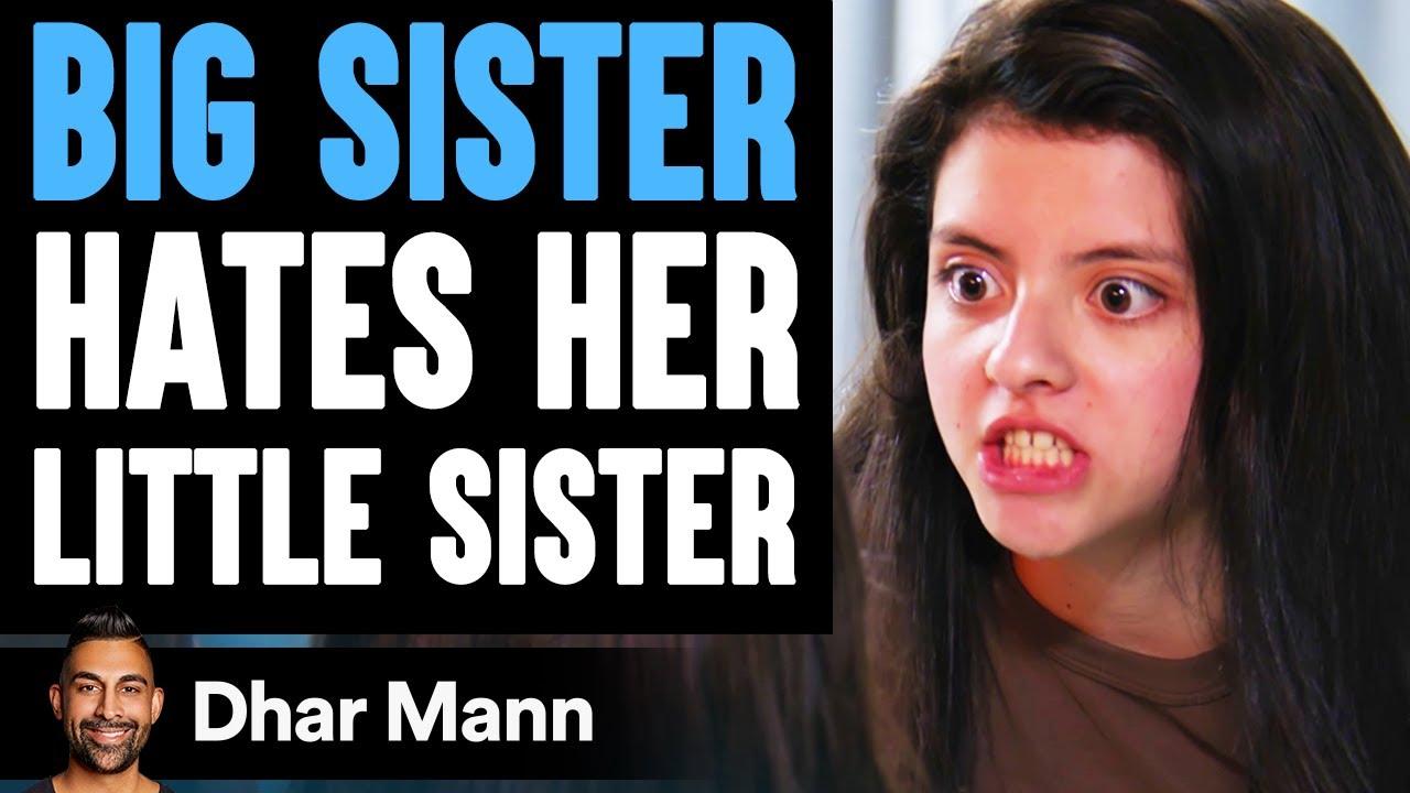 Big Sister HATES Her LITTLE SISTER, She Instantly Regrets It