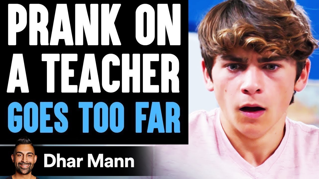 PRANK On Teacher GOES TOO FAR, What Happens Is Shocking