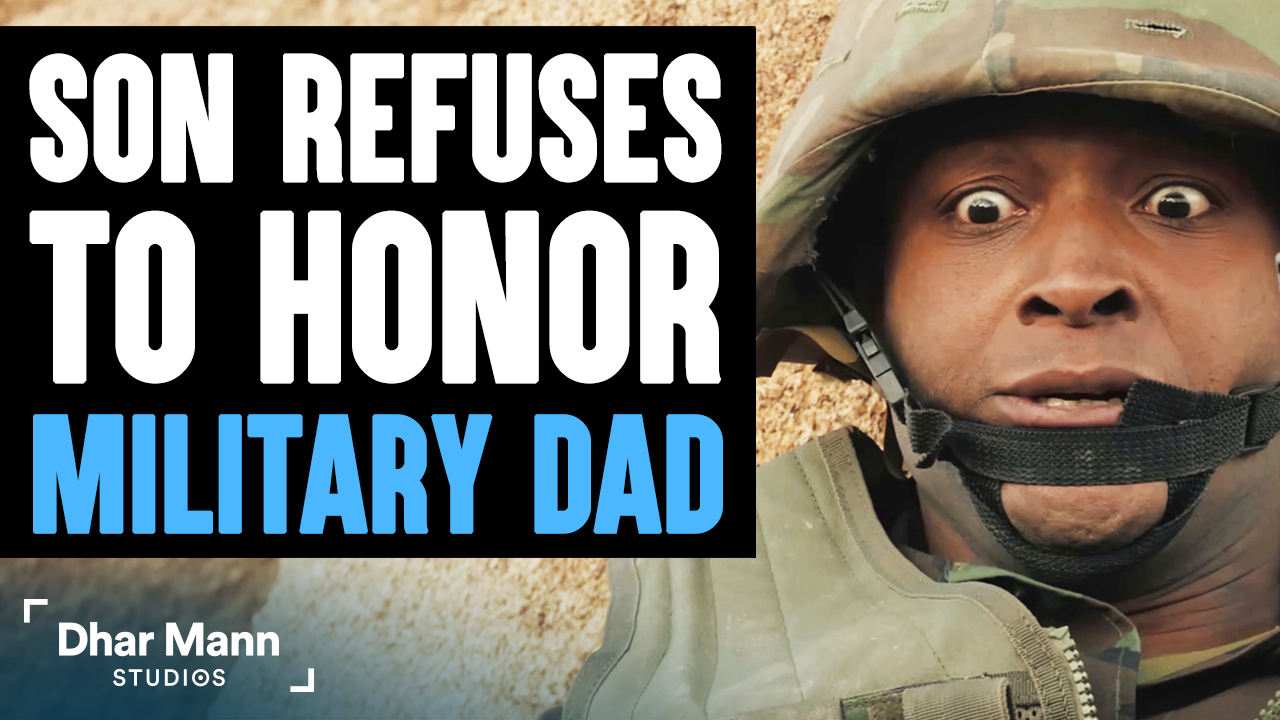 Son REFUSES to Honor MILITARY DAD, What Happens Is Shocking