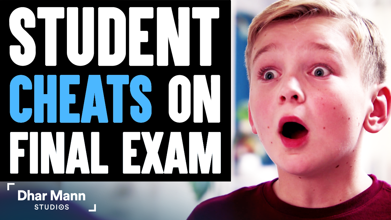 Student CHEATS On FINAL EXAM, Instantly Regrets It