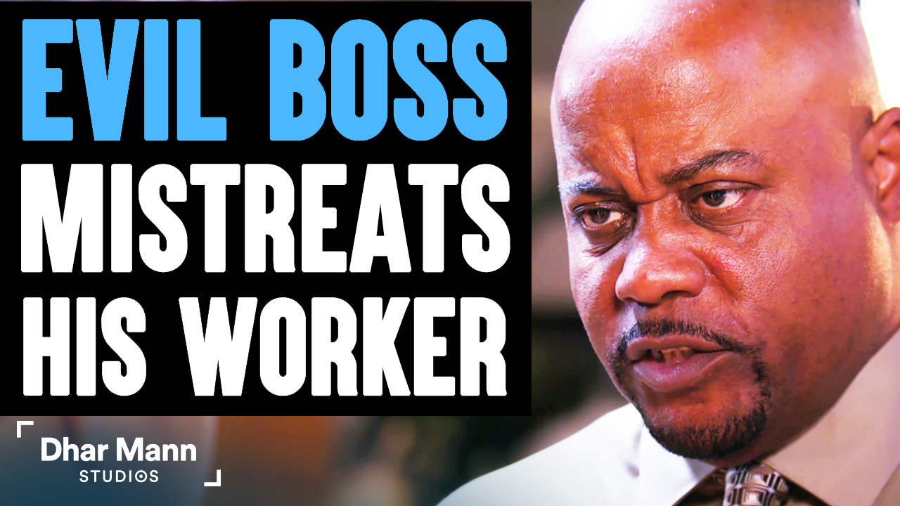 Evil BOSS MISTREATS His WORKER, What Happens Is Shocking