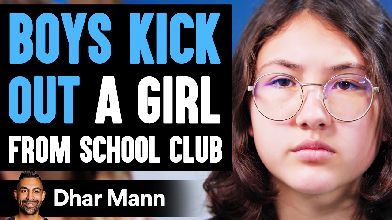 Boys KICK OUT GIRL From School Club, They Instantly Regret It