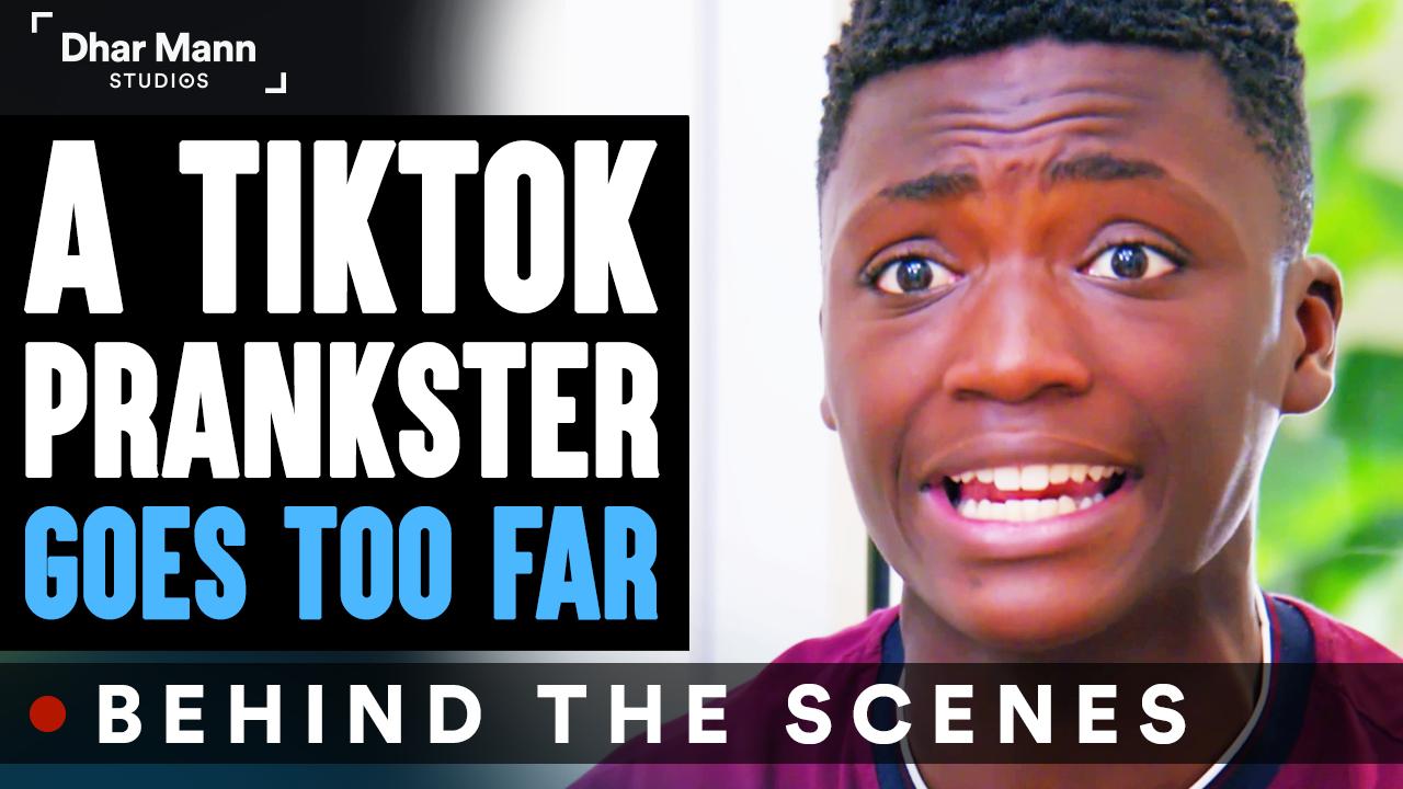TikTok PRANKSTER Goes TOO FAR (Behind The Scenes)