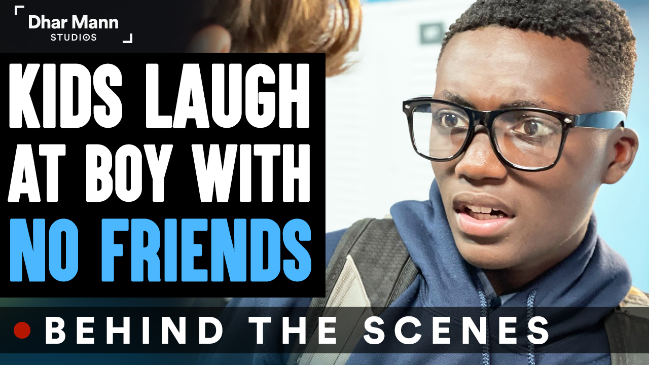 Kids LAUGH At Boy With NO FRIENDS (Behind-The-Scenes)