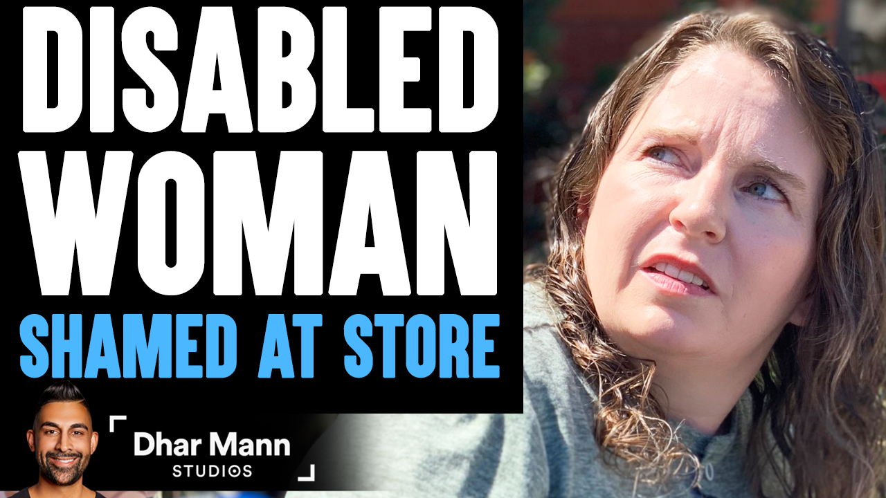 DISABLED WOMAN Shamed At Store, What Happens Is Shocking