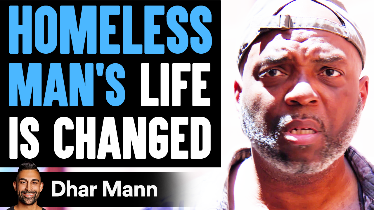 Homeless Man's LIFE IS CHANGED, What Happens Is Shocking