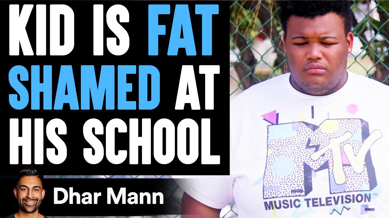 Kid Is FAT SHAMED At His School ft. Big Boy