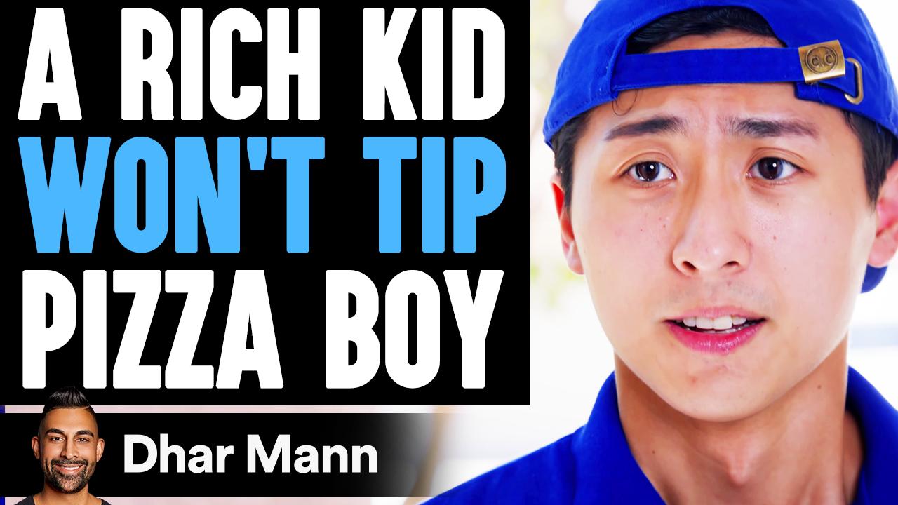 RICH Kid WON'T TIP Pizza Boy, He Lives To Regret It