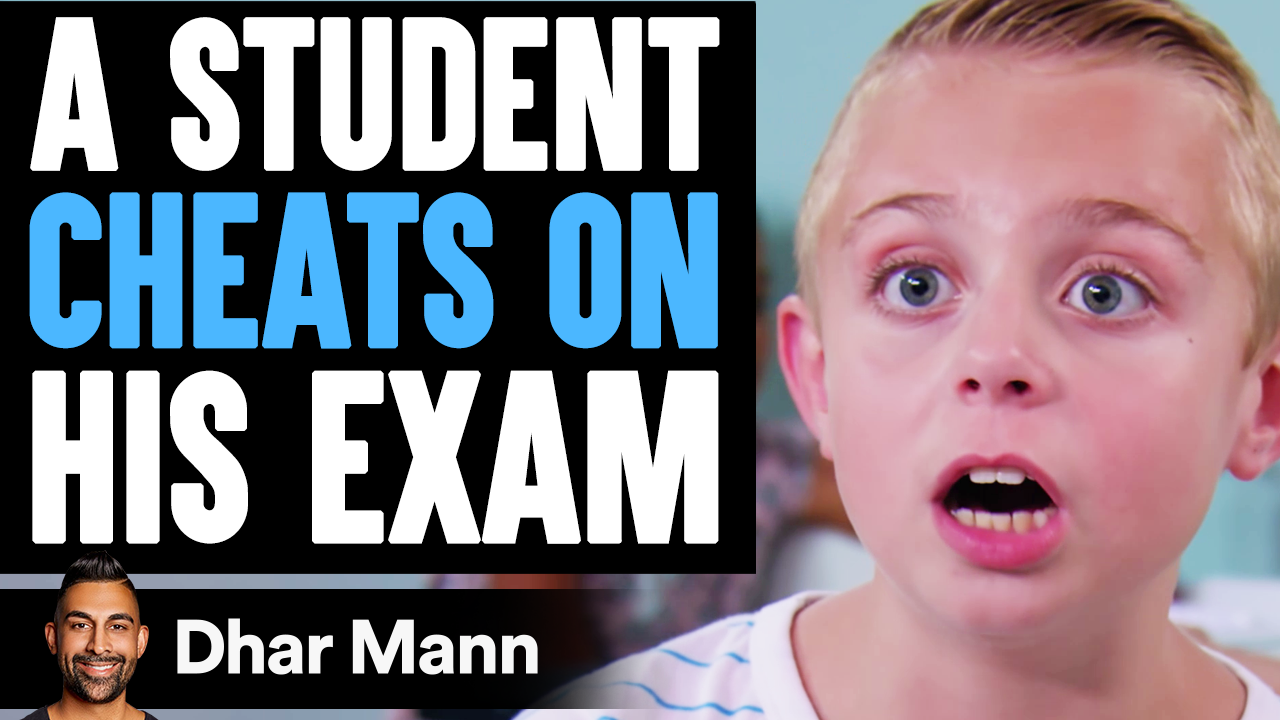 Student CHEATS On His EXAM, He Instantly Regrets It