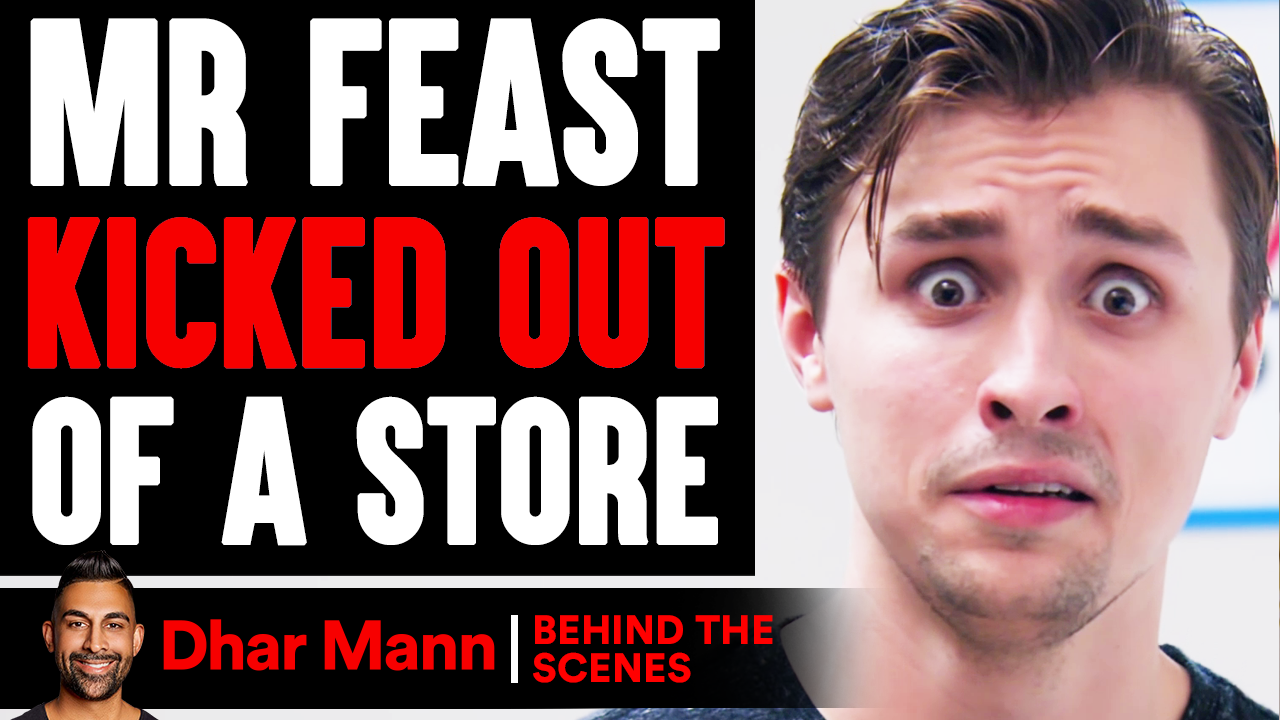 MrFeast KICKED OUT Of Store (Behind The Scenes)