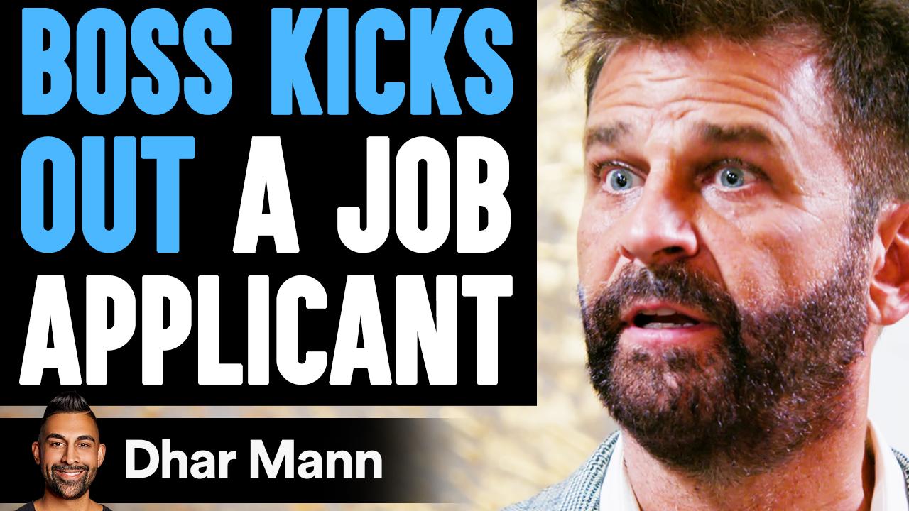 Boss KICKS OUT A JOB APPLICANT, He Lives To Regret It