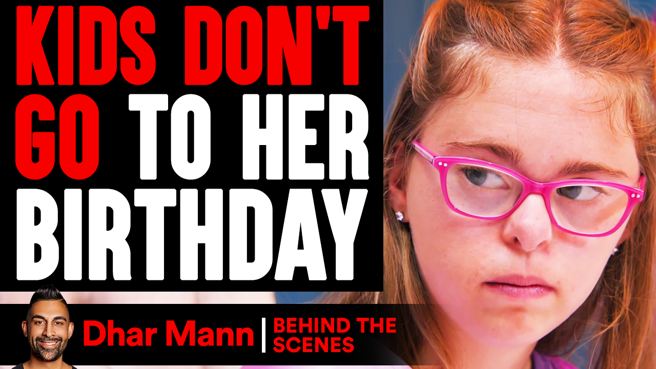 Kids DON'T GO TO Girl's BIRTHDAY (Behind The Scenes)