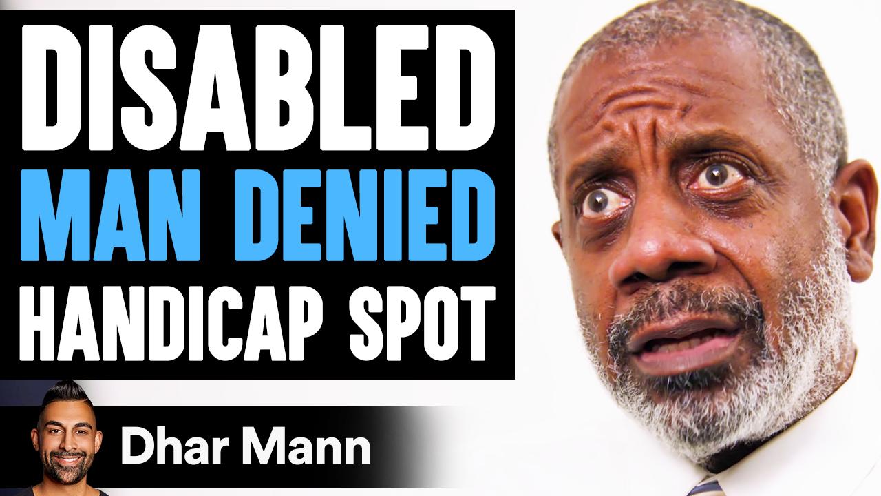 DISABLED Man DENIED Handicap Spot, What Happens Is Shocking