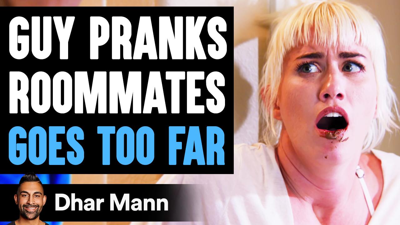 Guy PRANKS Roommates, GOES TOO FAR ft. Ben Azelart