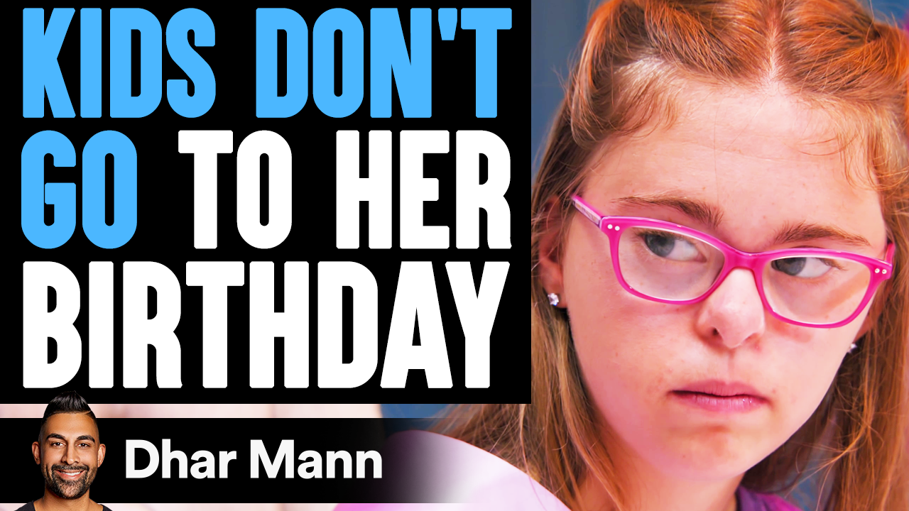 Kids DON'T GO TO Girl's BIRTHDAY, What Happens Is Shocking