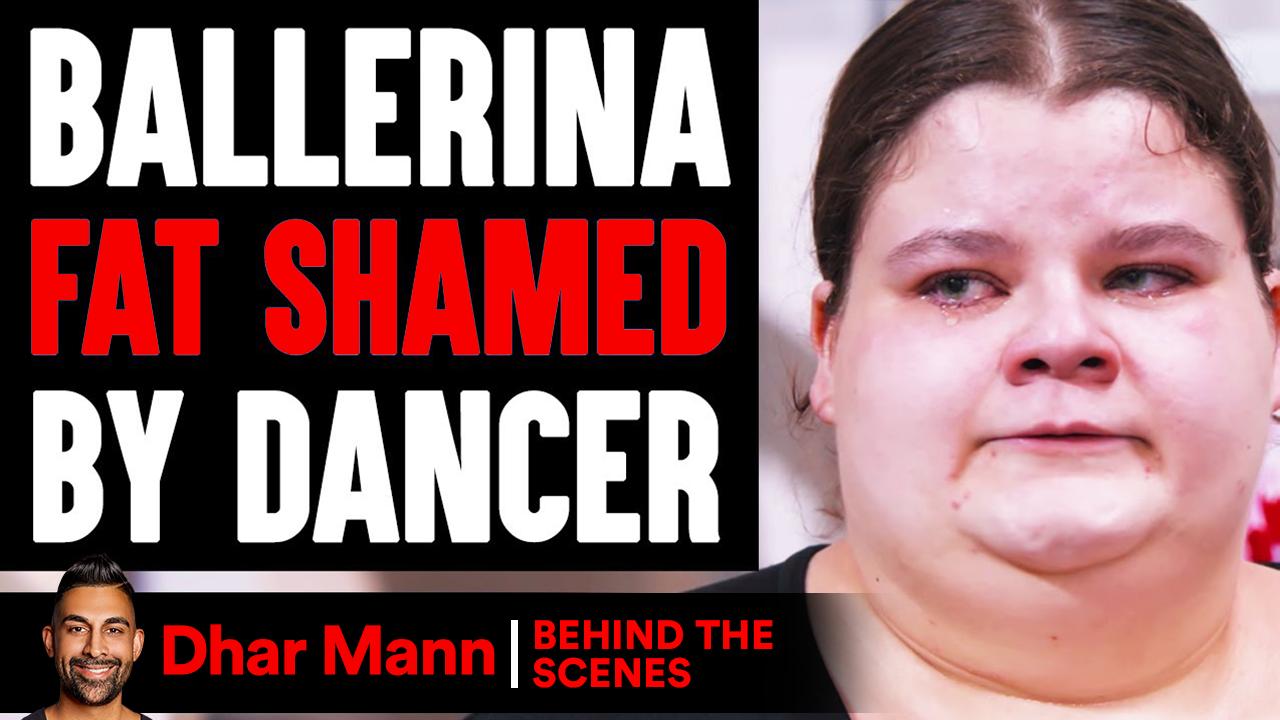 Ballerina FAT SHAMED By Dancer ft. Jordan Matter (Behind The Scenes)