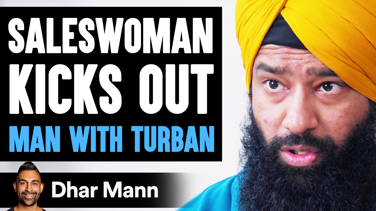 Saleswoman KICKS OUT Man With Turban, What Happens Is Shocking