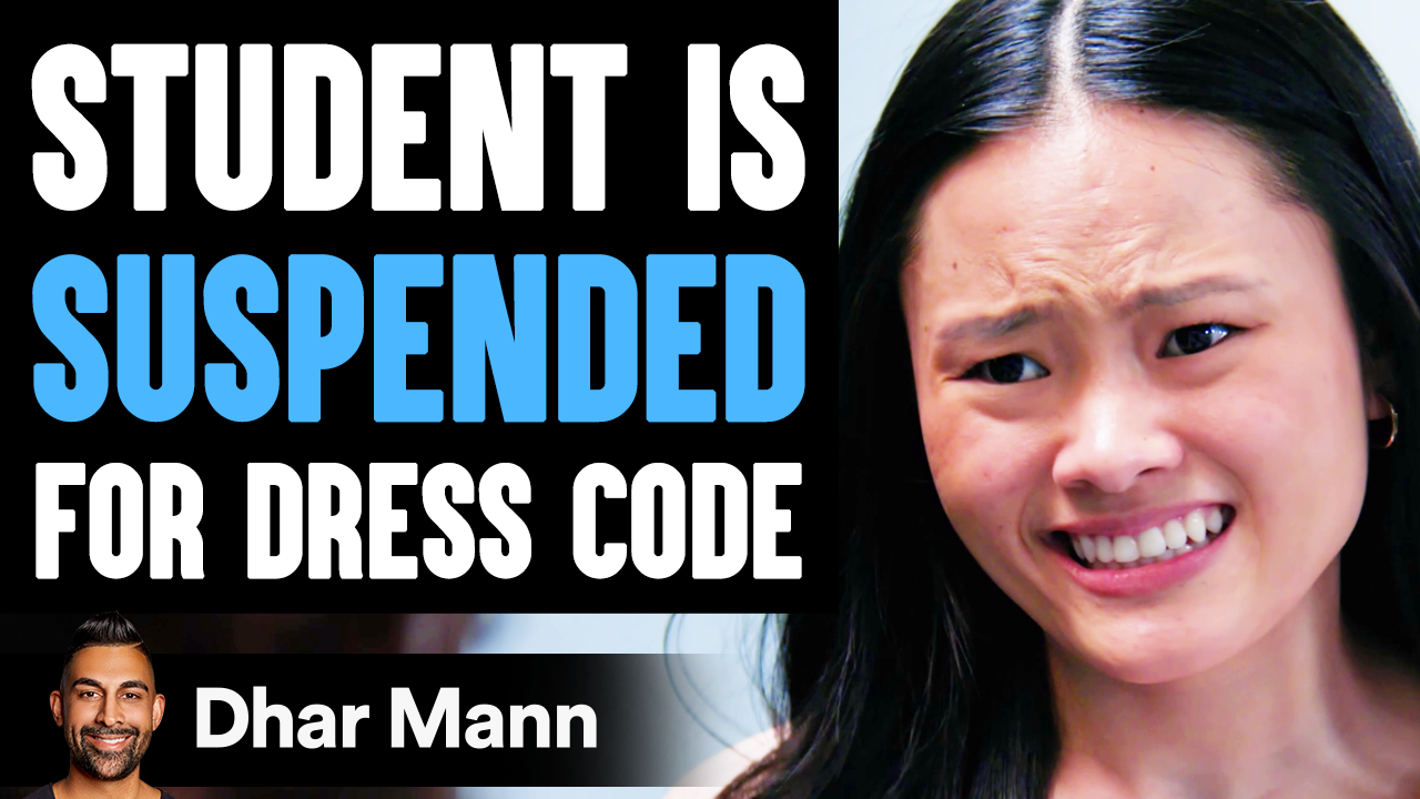 STUDENT Is SUSPENDED For Dress Code, What Happens Next Is Shocking