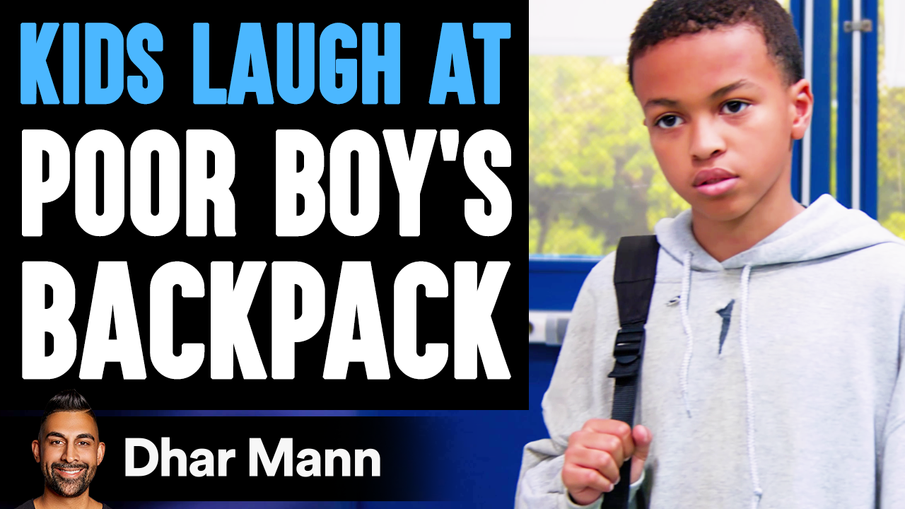 Kids LAUGH AT POOR KID'S Backpack, They Live To Regret It