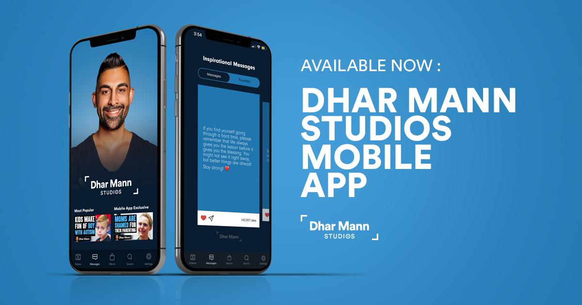 Dhar Mann Studios mobile app