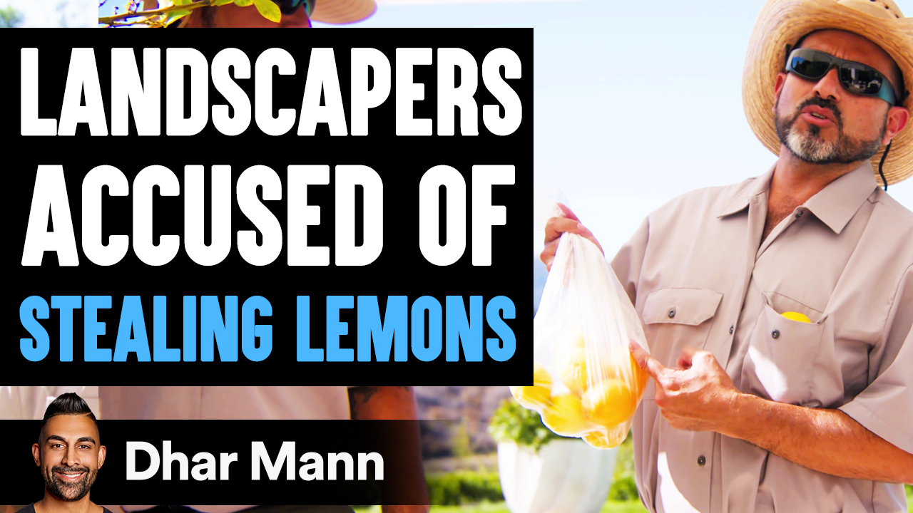 Landscapers ACCUSED OF STEALING Lemons, What Happens Is Shocking
