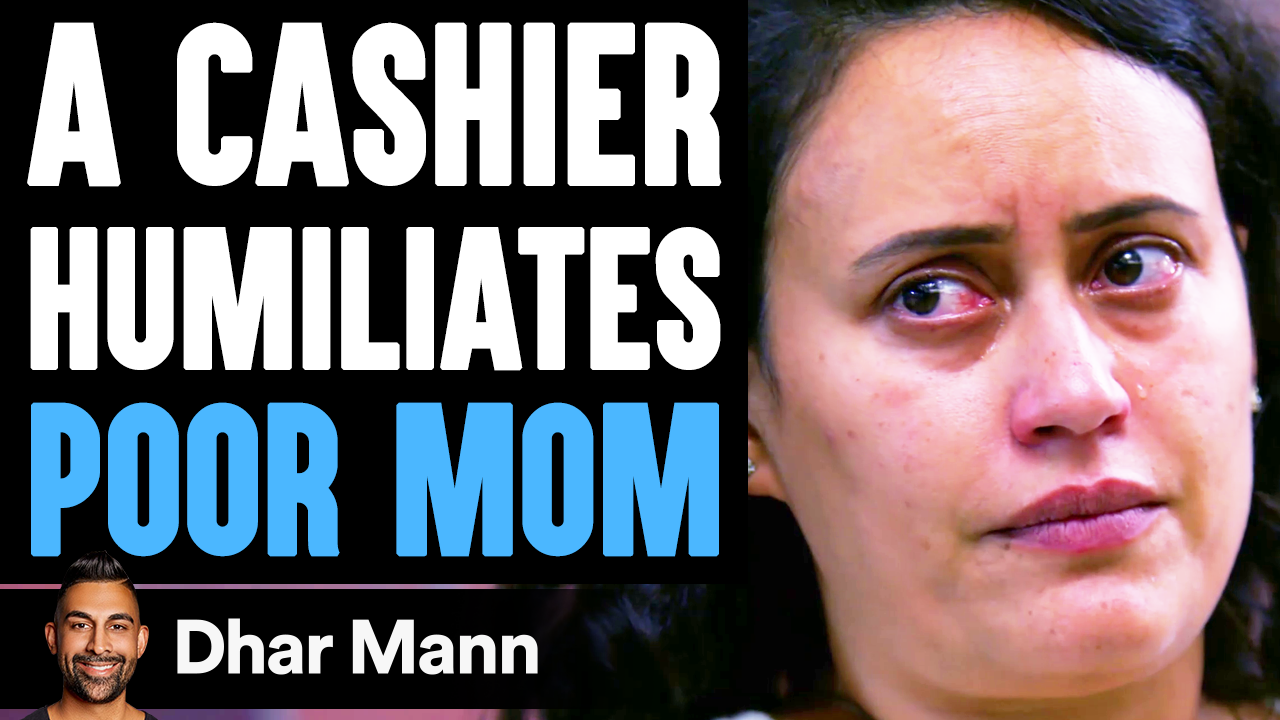 Cashier HUMILIATES POOR MOM, What Happens Next Is Shocking