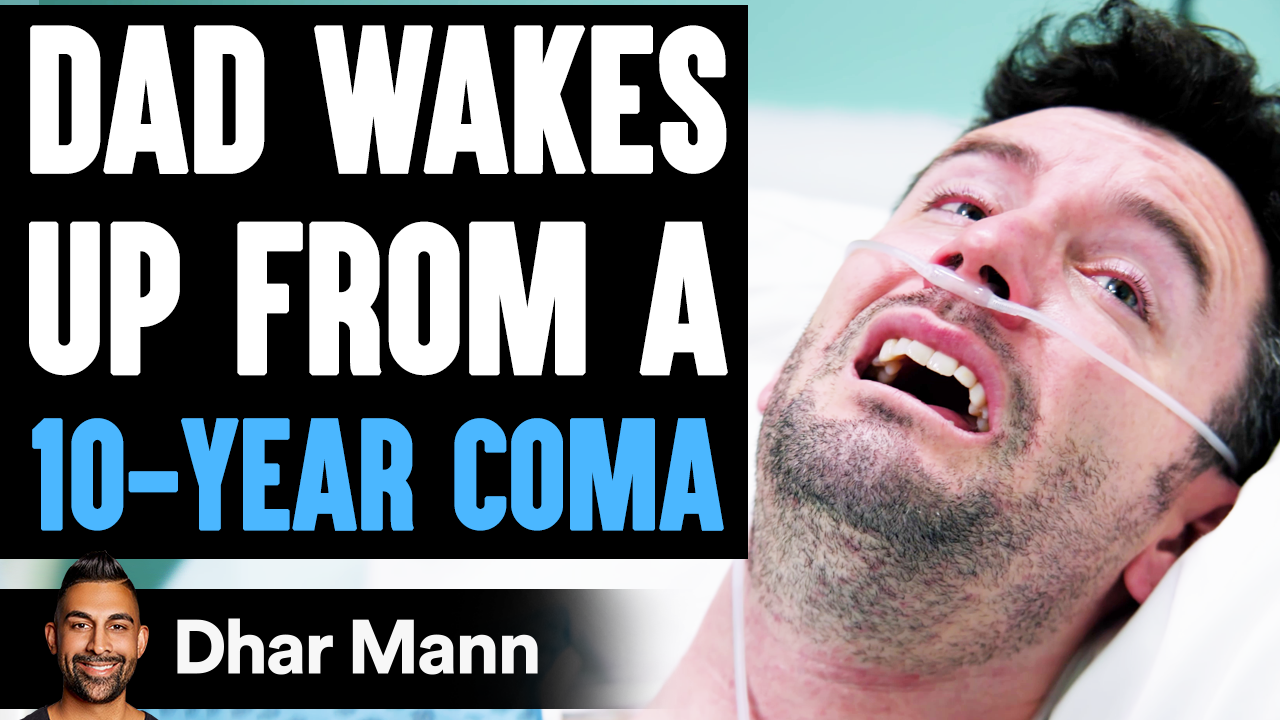 Dad Wakes Up From A 10-YEAR COMA, What Happens Is Shocking