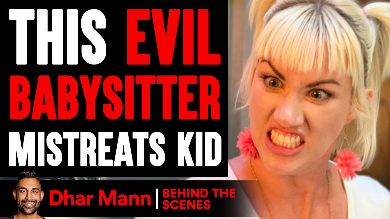 EVIL BABYSITTER Mistreats KID (Behind The Scenes)