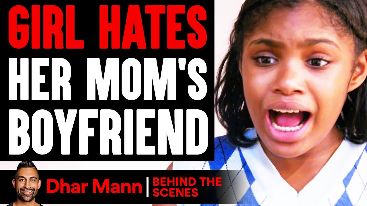 Girl HATES Her MOM'S BOYFRIEND (Behind The Scenes)