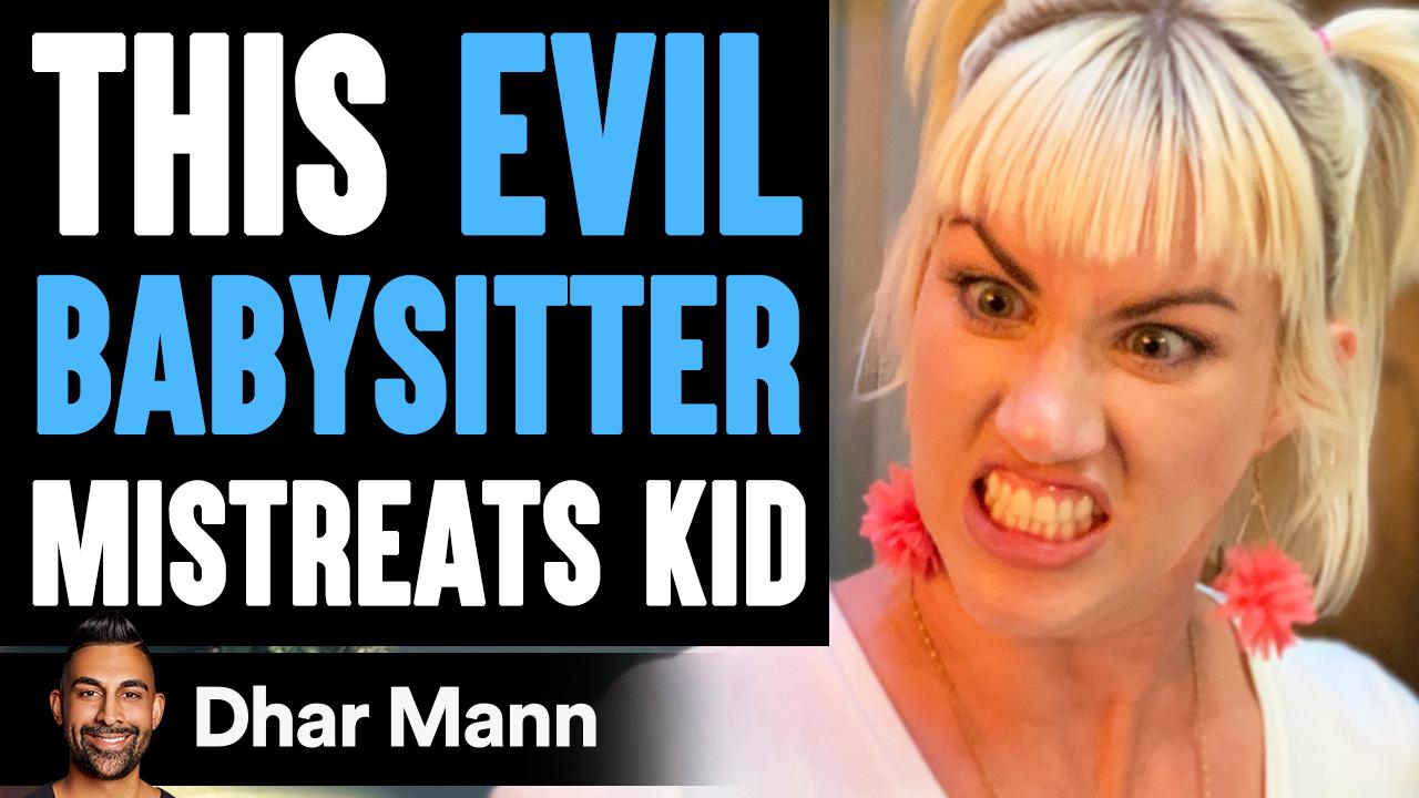 EVIL BABYSITTER Mistreats KID, What Happens Next Is Shocking