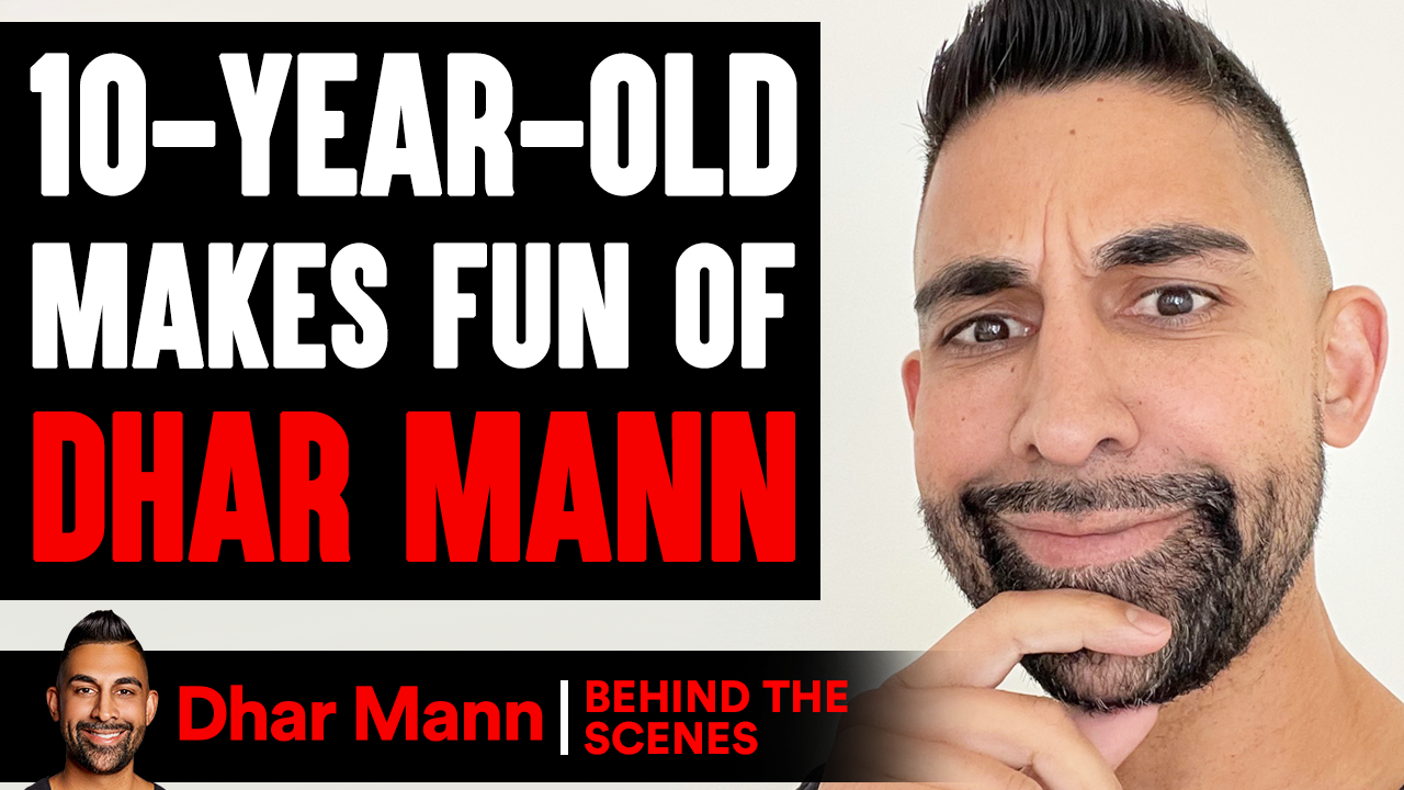 10-Year-Old MAKES FUN OF Dhar Mann (Behind The Scenes)